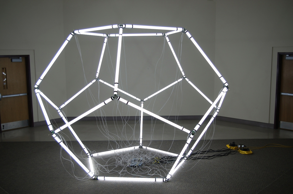 Fluorescent Dodecahedron